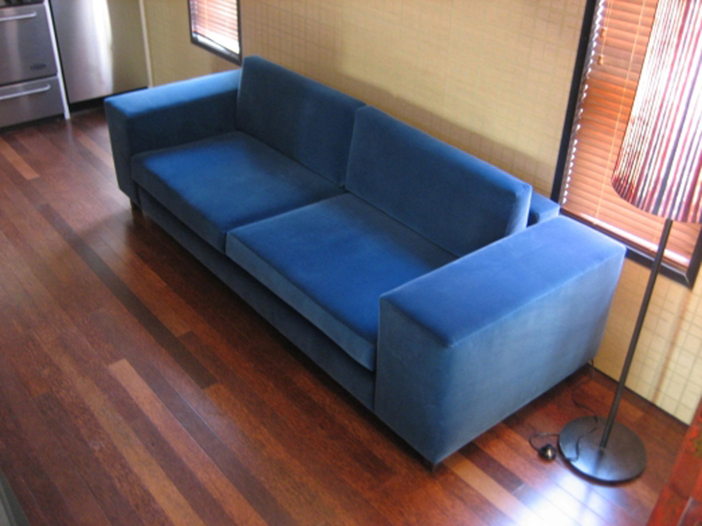Merveilleux The Boxy Sofa Is Available In Custom Lengths And A Variety Of Fabrics,  Though Weu0027re Keen On Mohair.